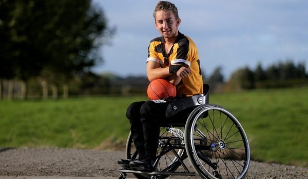 Taranaki man scouted for multiple sorts at Halberg Junior Disability Games