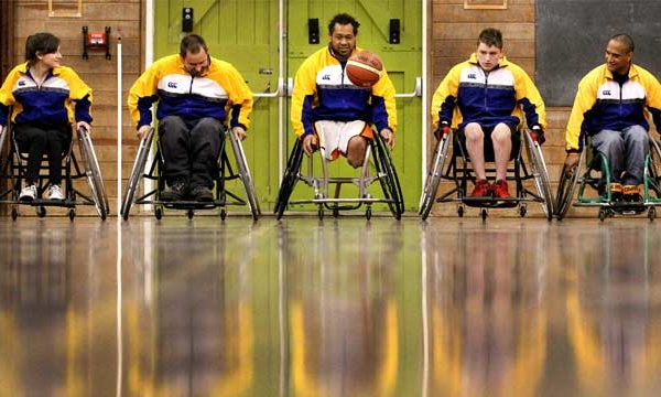 Wheelchair basketballers back after long absence