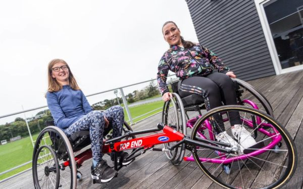 Taranaki athletes hope to shine on their new wheelchairs